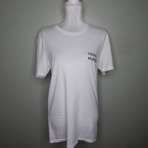 everlane women white T-Shirt  cotton SZ S